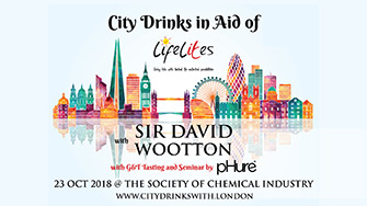 City Drinks in aid of Life Lites
